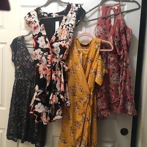 FOUR 👀  NWT💫 Franchesca's dresses. Bundle